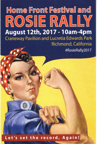 ROSIE RALLY AUGUST 12th    10 AM - 4 PM