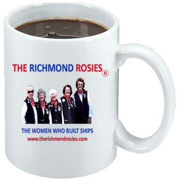 THE RICHMOND ROSIES PHOTO COFFEE MUG  15oz
