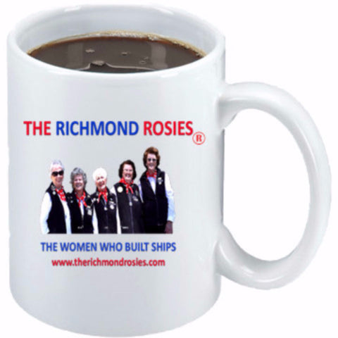 THE RICHMOND ROSIES PHOTO COFFEE MUG 11 oz