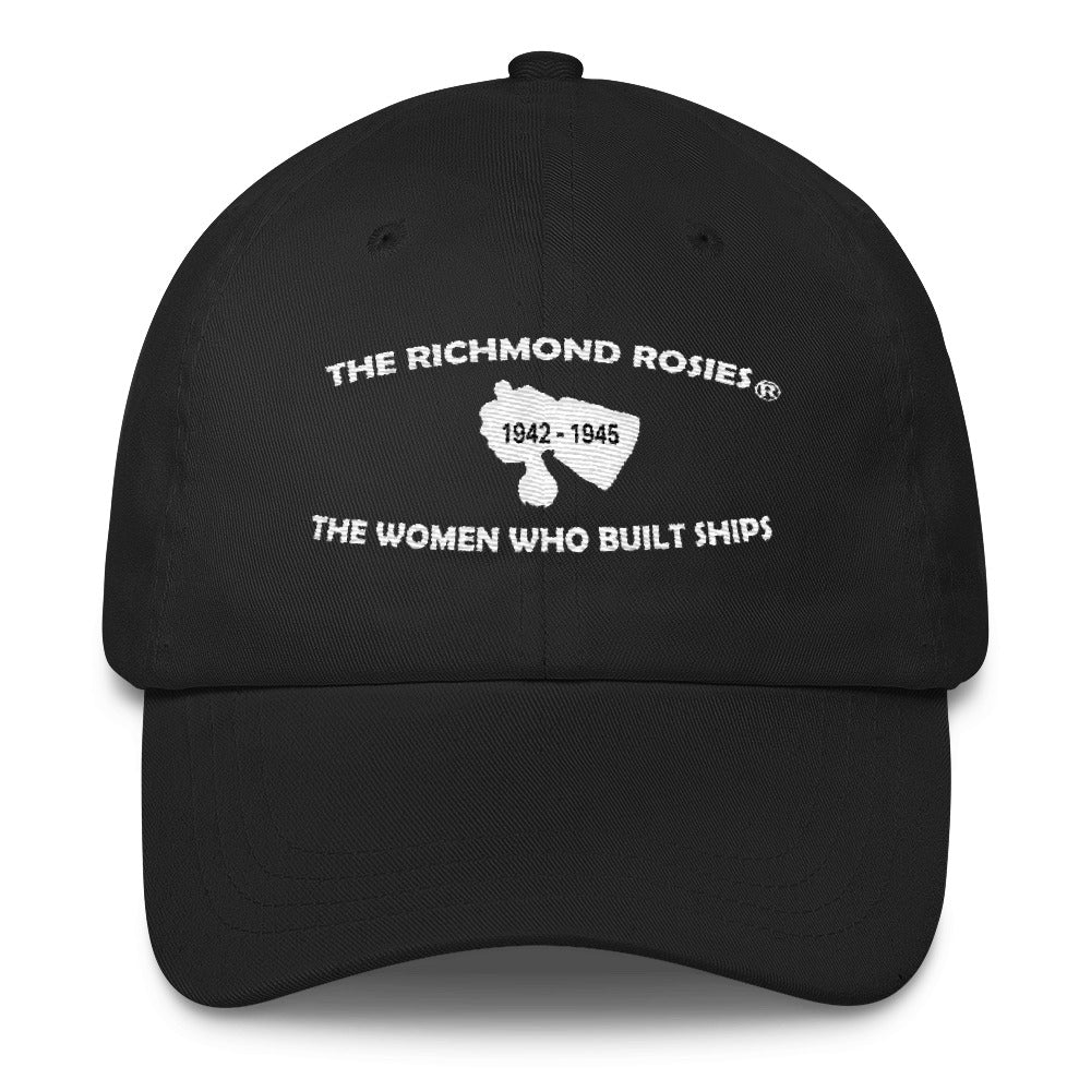 THE RICHMOND ROSIES BLACK SPECIAL CLASSIC BASEBALL CAP