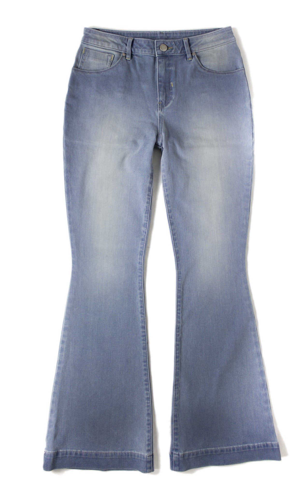 Skinny Flare - Mckenzie Light Med Blue