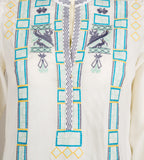 Jane Embroidered Blouse - MISSPRINT