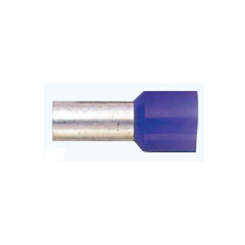 0 Gauge Insulated Wire Ferrule | 50 pack | WF025-BL - Lockdown Security