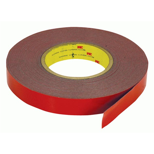 "3M DST-22 Body Side Moulding Tape | Double Sided Tape | 7/8"""" Wide x 60 foot roll - Lockdown Security"