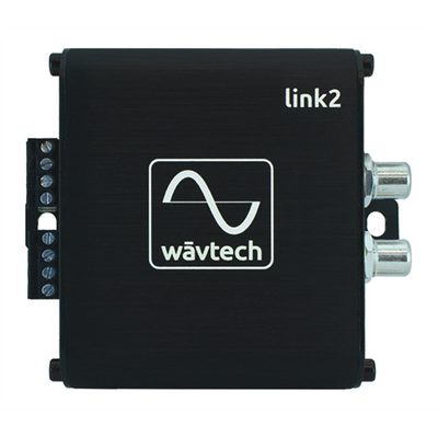 Wavtech LINK2 2 channel Line Output Convertor - Lockdown Security