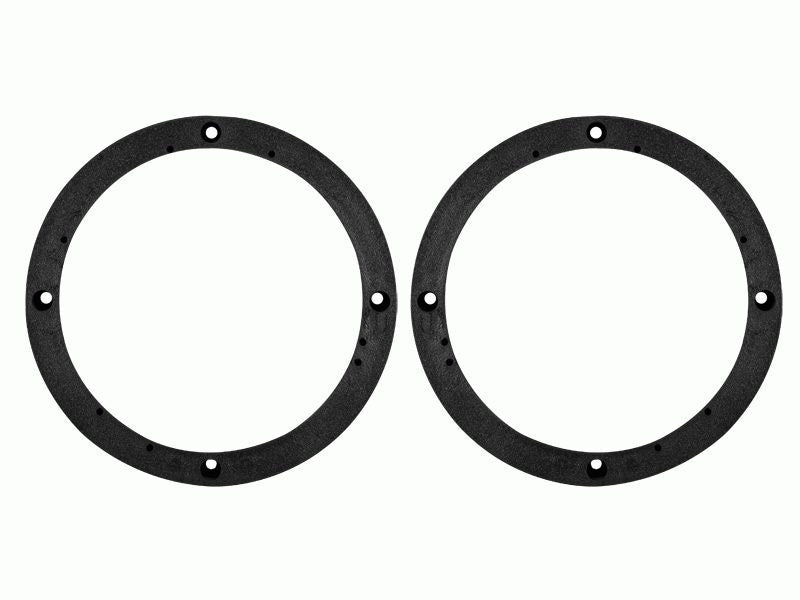"""5.25/"""" 6.5/"""" Speaker Adapter Mount Plates Ring Aftermarket Install Wire Harness"""