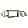 Metra 95-7870T 2005 - 2009 Honda Ridgeline Tan Double DIN Dash Kit - Lockdown Security