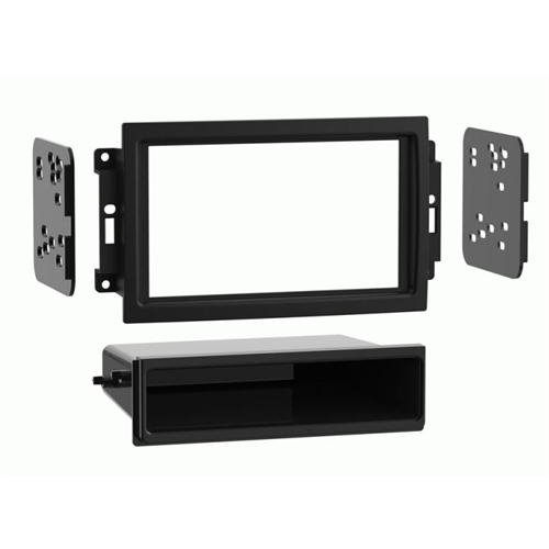 Metra 99-6510 Chrysler/Dodge/Jeep Single and Double DIN Dash Kit - Lockdown Security