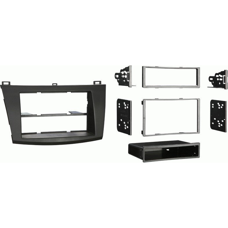 Metra 99-7514B 2010-2013 Mazda 3 Double and Single DIN Dash Kit