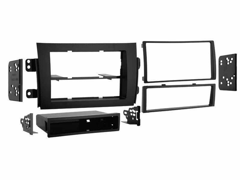 Metra 99-7954 07-13 Suzuki SX4 Single and Double DIN Dash Kit
