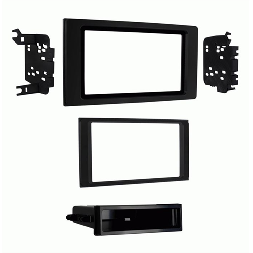 Metra 99-8251B 2016 - Up Toyota Tacoma Double and Single DIN Dash Kit - Lockdown Security