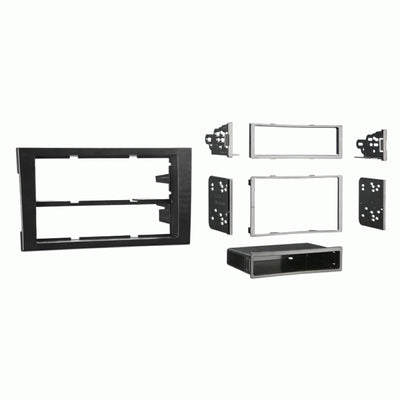 *CLEARANCE* Metra 99-9107B 2002 - 2008 Audi A4 Single and Double DIN Dash Kit - Lockdown Security