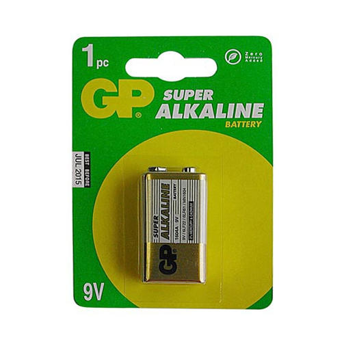 GP Batteries 9V 9 Volt Battery (single) - Lockdown Security