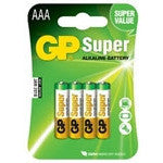 GP Batteries AAA 1.5 Volt Batteries (4 Pack) - Lockdown Security