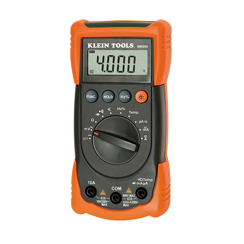 Klein Tools LY-MM200 Auto Ranging Digital Multimeter - Lockdown Security