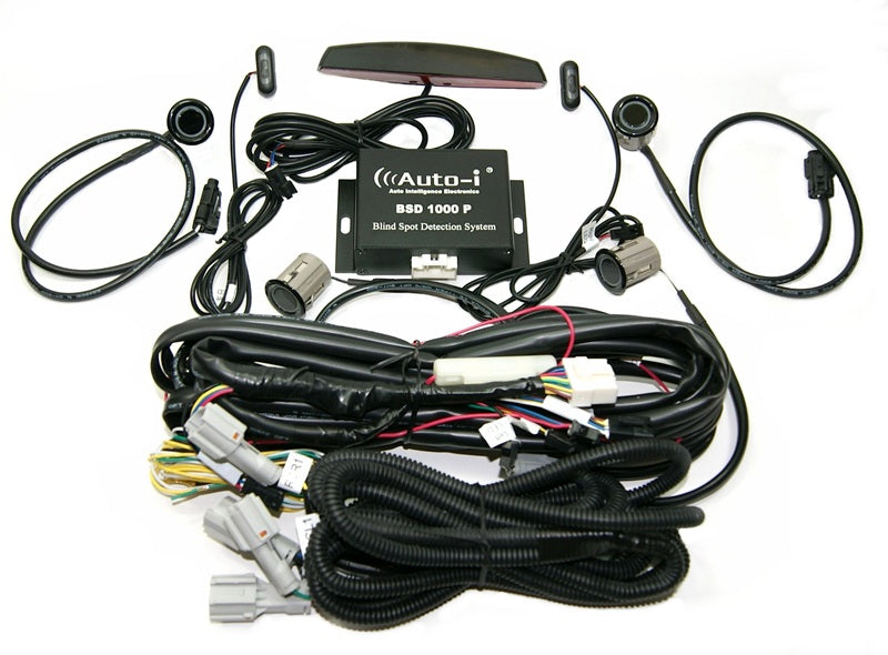 Auto-i BSD1000P Blind Spot Detection Kit with Rear Park Sense - Lockdown Security