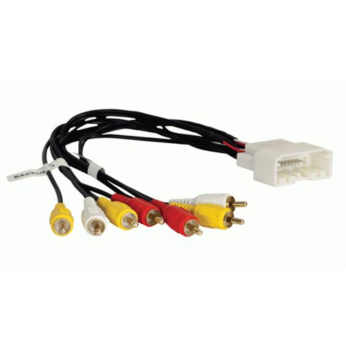Axxess CHRYSAV / AXRSEH-CH1 Chrysler/Dodge/Jeep Backup Camera Retention Harness | Retains Overhead DVD - Lockdown Security