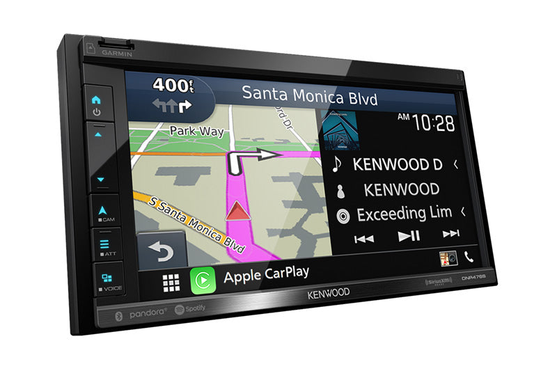 Kenwood DNR476S | Digital Media | Garmin Navigation | Apple CarPlay and Android Auto - Lockdown Security
