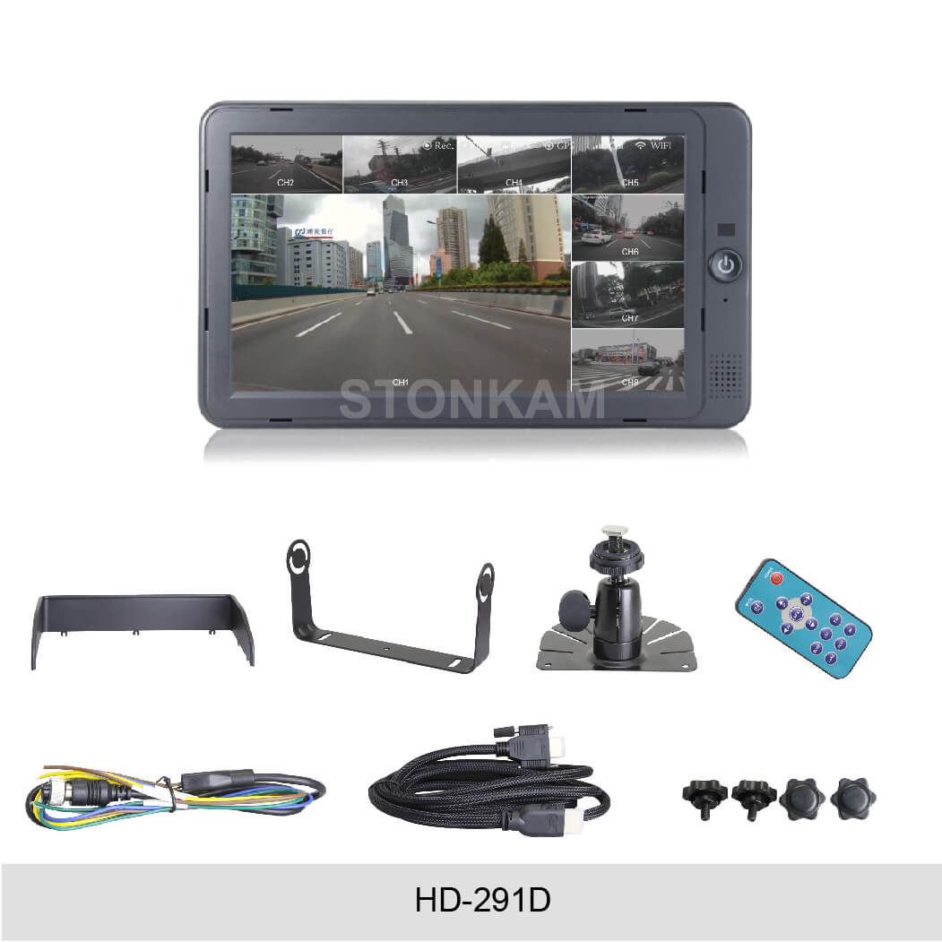 "STONKAM HD-291D 10.1"" LCD Monitor - Lockdown Security"