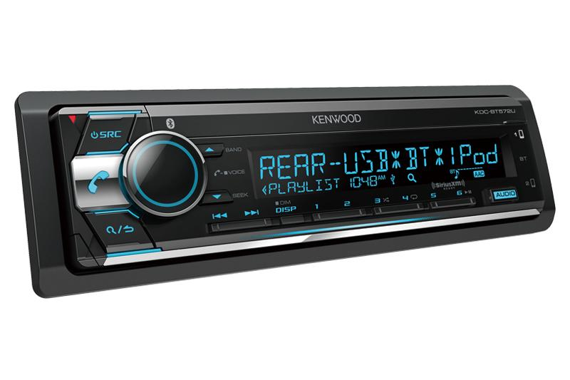 Kenwood KDC-BT572U CD Receiver with Bluetooth - Lockdown Security