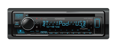 KDC-X304 CD Receiver with Bluetooth - Lockdown Security