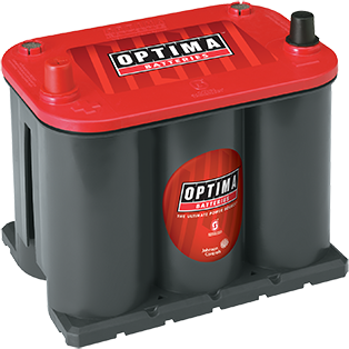 Optima OP25 Red Top Battery - Lockdown Security