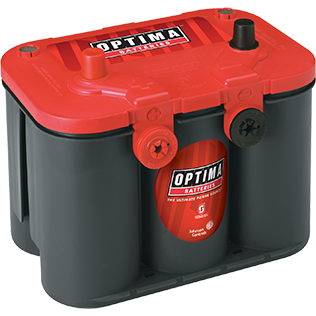 Optima OP3478 Red Top Battery - Lockdown Security