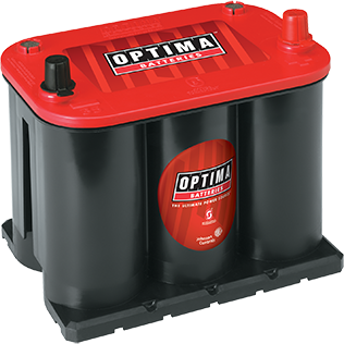 Optima OP35 Red Top Battery - Lockdown Security