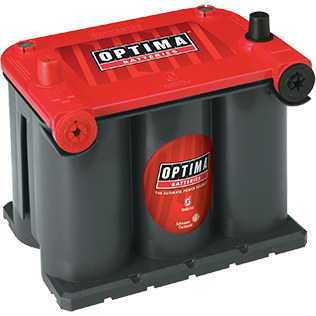 Optima OP7525 Red Top Battery - Lockdown Security
