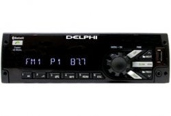Delphi PP105222 Heavy-Duty AM/FM/MP3/WMA CD Player with Weatherband - Lockdown Security