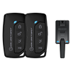 iDatastart RF1151A Four Button (1-Way) Key Fob Kit - Lockdown Security