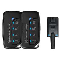iDatastart RF2352A Four Button (2-Way) Key Fob Kit - Lockdown Security