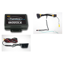 Crux RVCCH-75C Rear-View Integration (Jeep w/U-Connect System) - Lockdown Security