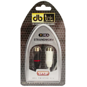 db Link SXY2F Y Adaptors (2 Female / 1 Male) - Lockdown Security