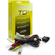 Idatalink Maestro HRN-RR-TO2 Toyota / Scion Plug & Play T-Harness - Lockdown Security