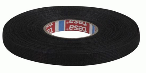 "Tesa 51618 (3/8"") PET Cloth Wire Harness Tape 