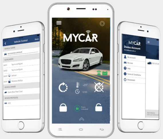 MyCar VS-4LU-1 | 4G/LTE - Lockdown Security
