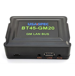 USA Spec Bluetooth Interface with AUX / USB Charge (GM LAN BUS w/ XM) - Lockdown Security