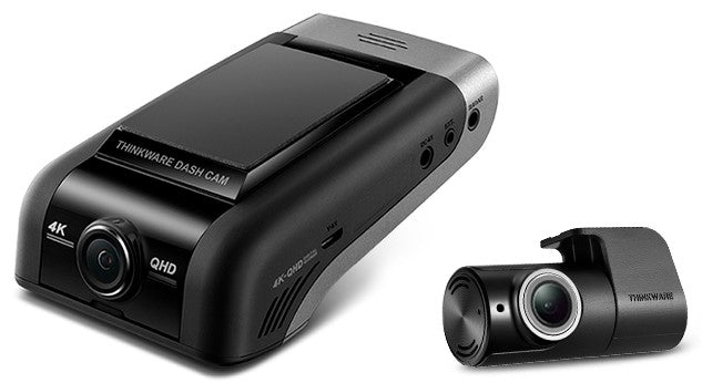 Thinkware U1000D32CHF | 4K Front and Rear Dash Camera | 32GB Memory Card | WiFi + Cloud - Lockdown Security
