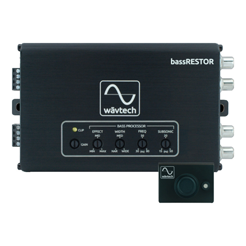 Wavtech BASSRESTOR Bass Restoration Processor | 2 Channel LOC | Line Driver - Lockdown Security