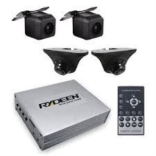 Rydeen BVR400 II 4 Channel Blind Spot Viewing DVR System | Includes 4 Cameras