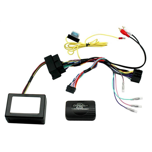 Connects2 CTSBM012.2 2004-2013 BMW MOST 25 Radio Replacement Interface with Steering Wheel Control - Lockdown Security
