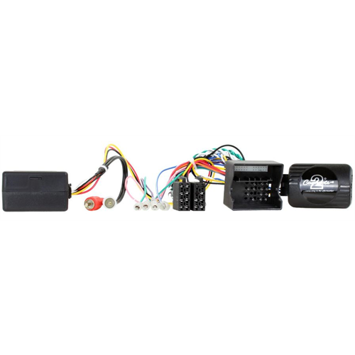 Connects2 CTSPO004.2 2007 - 2010 Porsche Cayenne Radio Replacement Interface with Steering Wheel Control Retention - Lockdown Security