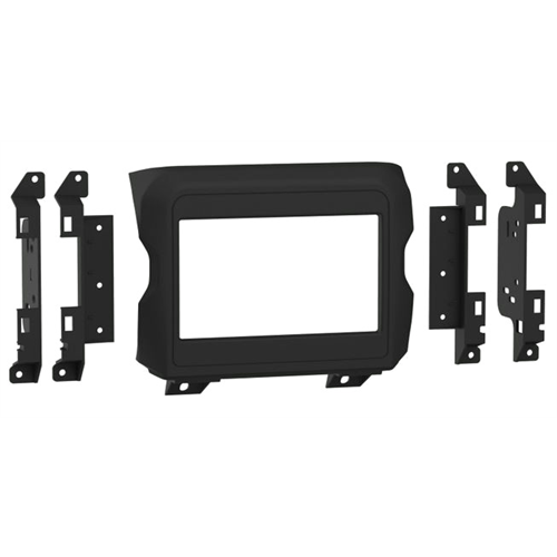 "Metra 107-CH3B Jeep w/ Uconnect 3.0 + 5"" Display Shallow / Modular Dash Kit ('18 - up) - Lockdown Security"