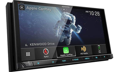Kenwood Excelon DNX997XR GPS Navigation Receiver with Apple CarPlay and Android Auto - Lockdown Security