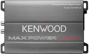 Kenwood KAC-M1814 4-Channel Micro Amplifier - Lockdown Security
