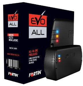 Fortin EVO-ALL Remote Starter & Interface Module - Lockdown Security