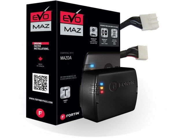 Fortin Evo Mazt1 Plug And Play Remote Starter For Mazda Push Button Start Vehicles Lockdown Security