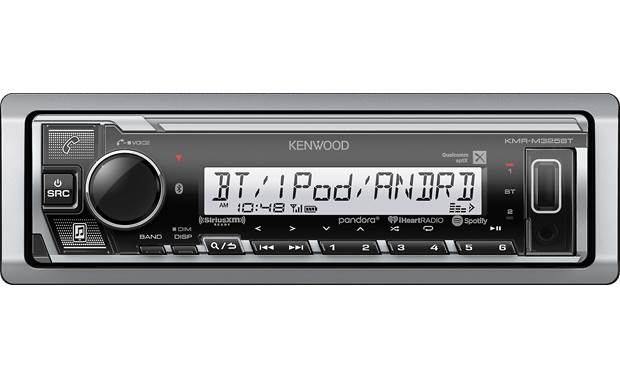 Kenwood KMR-M325BT Marine/PowerSport Digital Media Receiver - Lockdown Security