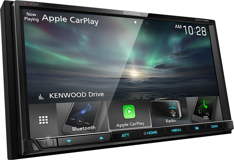 Kenwood Excelon DMX706S Digital Media Receiver - Lockdown Security